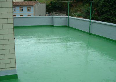Acabados de reimpermeabilización en patios de comunidades