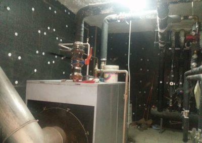 Aislamiento acústico de sala de calderas. Bº La Sal