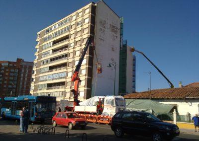Aislamiento de fachadas con problemas de condensaciones. Glta Pinilla