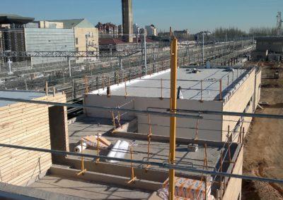 Aislamiento e impermeabilización en PVC, Estación del Ave en León