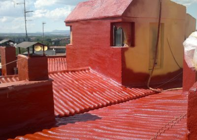 Aislamiento e impermeabilización transitable en cubiertas de eddifcios, Edificio Csa. Sagasta (2)