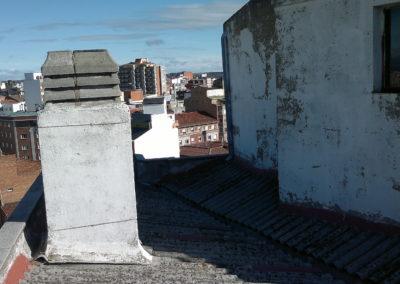 Aislamiento e impermeabilización transitable en cubiertas de eddifcios, Edificio Csa. Sagasta (3)