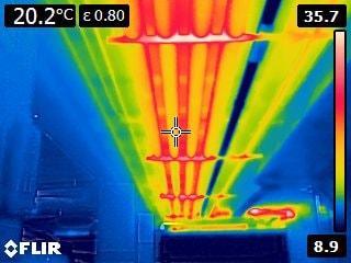 Análisis termografico y solucion termica adaptada en canalizaciones de agua caliente a su paso por zona garajes. (1)