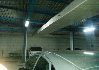Análisis termográfico y solución térmica adaptada en canalizaciones de agua caliente a su paso por zona garajes. 2