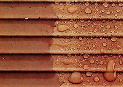 Producto de hidrofugado en fachadas