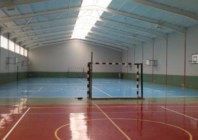 Rehabilitación suelo para usos deportivos. Jesuitas 1