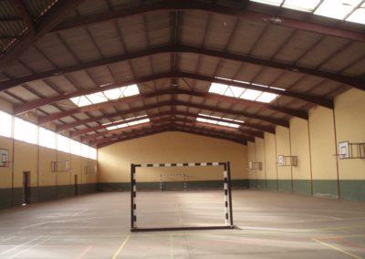 Rehabilitación suelo para usos deportivos. Jesuitas 2