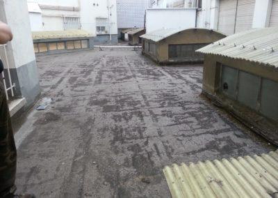 Reimpermeabilización patio en calle San Mames. (1)